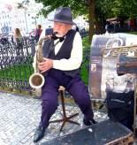 Praga, músico de rua