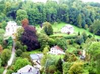 Região rural próxima a Salzburgo