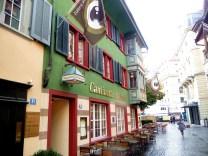 Rua no Centro Histórico de Zurich