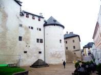 Salzburgo, interior do castelo, pátio