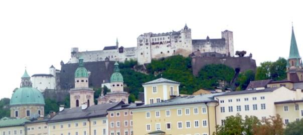 Salzburgo, castelo e centro histórico