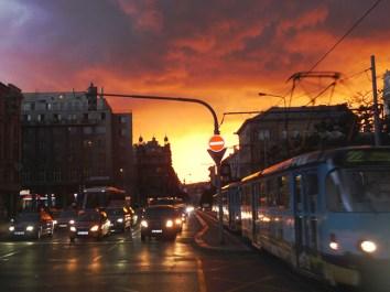 Anoitecer em Praga