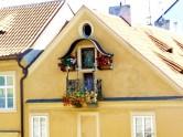 Detalhe de casa em Praga