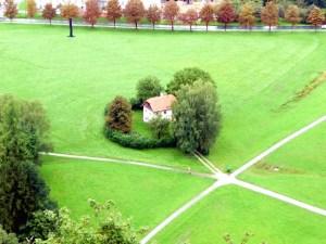 Campo próximo a Salzburgo