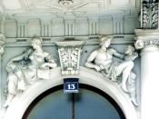 Decoração art-déco em edifício de Viena