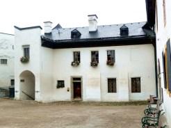 Habitação no interior do castelo de Salzburgo