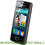 Samsung Wave 578 S5780 manual guia usuario smartphone gama alta