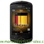 Sony Ericsson Live Walkman manual guia usuario hosting vps
