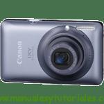 Canon Digital IXUS 120 IS manual guia usuario manual guia usuario stock footage picture stock