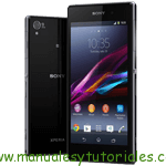 Sony Xperia Z1 | Manual de usuario en pdf español