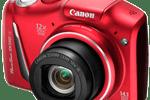 Canon PowerShot SX150 IS.