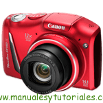 Canon PowerShot SX150 IS.
