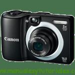 Canon PowerShot A1400 Manual de usuario en PDF español