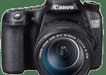 Canon EOS 70D   Guía y manual de usuario en PDF español
