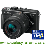 Panasonic Lumix GX1 Manual de usuario PDF español