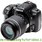 Ricoh PENTAX K50 Manual de usuario PDF español