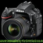 Nikon D810A Manual de usuario PDF español