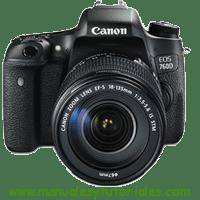 Canon EOS 760D Manual de usuario PDF Español