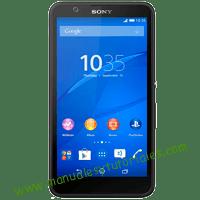 Sony Xperia E4 Manual de usuario PDF español