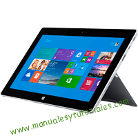 Microsoft Surface 2 Manual de usuario PDF español