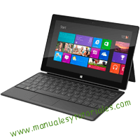 Microsoft Surface RT Manual de usuario PDF español