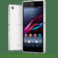 Sony Xperia Z1s Manual de usuario PDF español
