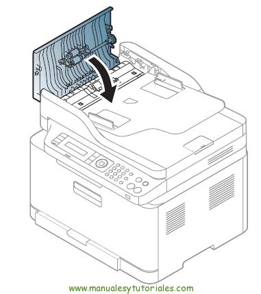 Cómo eliminar atasco de papel en la impresora Samsung Xpress SL-C460W