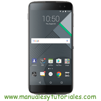 BlackBerry DTEK50 Manual de Usuario PDF