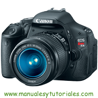 Canon EOS REBEL T3i Manual de Usuario PDF