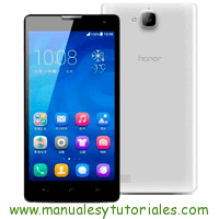 Honor 3C Manual de Usuario en PDF español
