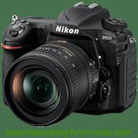 Nikon D500 Manual de Usuario en PDF español