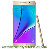 Samsung Galaxy Note 5 Manual de Usuario en PDF español