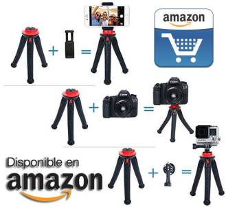 oferta tripode movil camara