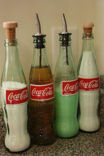 Manualidades Con Botellas De Vidrio De Coca Cola Novocom Top