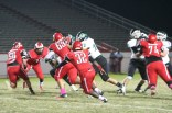 Manual players attack Rock. photo by Destony Curry