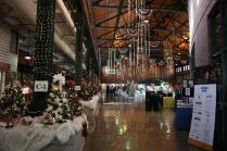 Inside the Festival of Trees and Lights, Republic Bank is the big sponsor. Photo by Molly Loehr