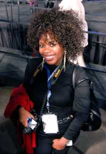 """""""Four years ago I watched President Obama's victorious success and at the time I was watching from a rural village in South America and now four years later I am here,"""" Donna Maluleke, Diplomat from South America said. She continued, """"I want to see the people of America vote for what they believe in. It is so cool to see ordinary people take control and changing their lives."""" She noted an observation that stood out to her while on a bus tour of the city that morning, """"There were all of these people walking up to one another saying, '€˜Did you vote today?' That was exhilarating to me."""" Exhilarating and certainly different from South America where parties are elected and not individuals, where there are far more parties than simply Democratic and Republican. Maluleke said, """"The majority party could have 60% of the country, so there is not much of a race. It's not like this."""""""