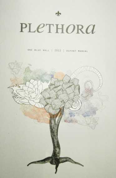 Plethora, 2012 Manual's literary magazine