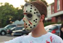 The zombie mask