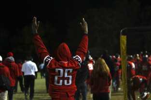 Manual scores their first touchdown.