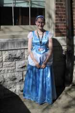 """""""(Cinderella's) a classic Disney character and my sister dressed up like her last year and I already had the costume."""" Claire Gothard (11, HSU)."""