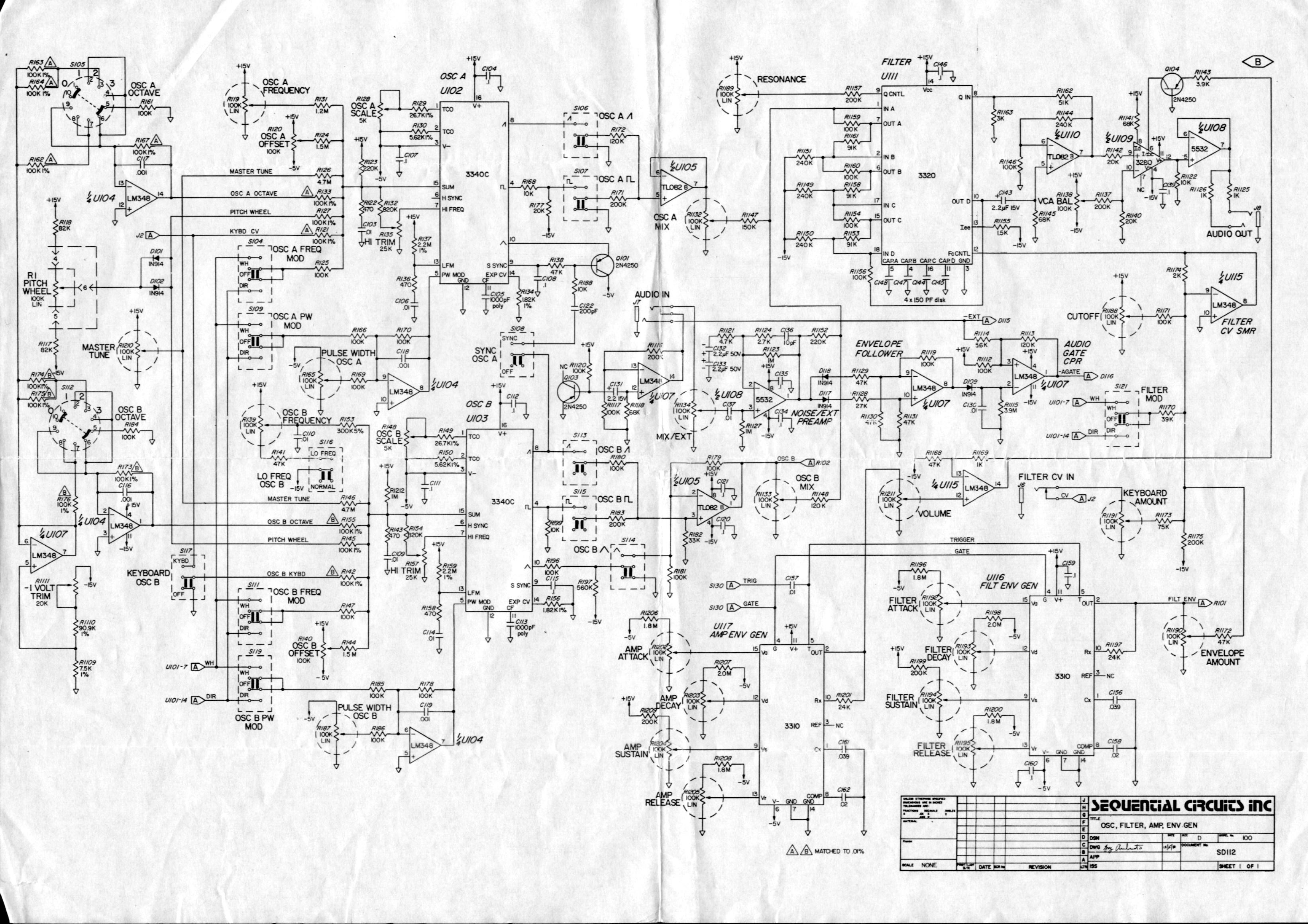 X Mini Circuit Diagram
