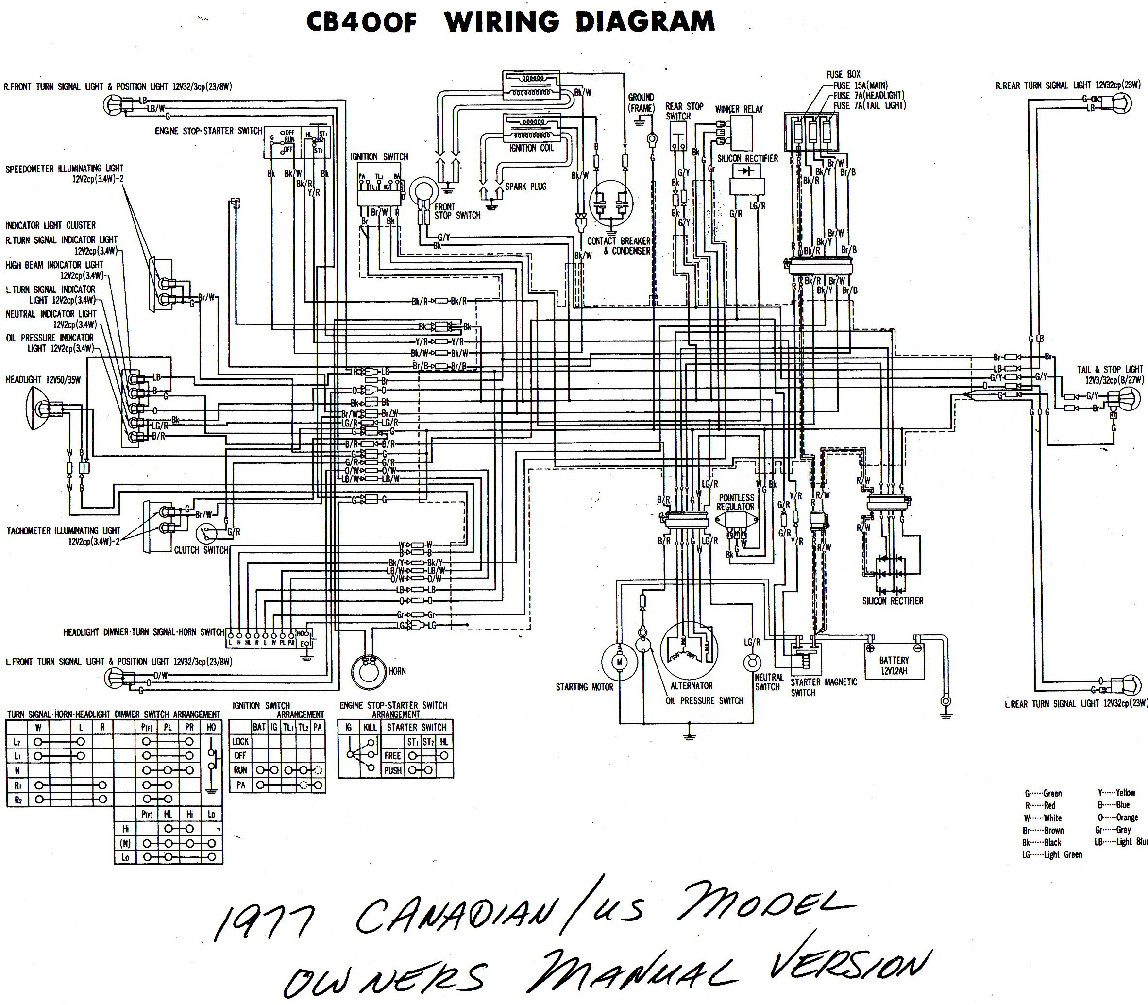 Wiring Diagram 87 Honda Shadow