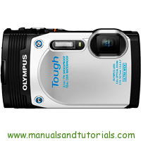 Olympus TG-850 Manual And User Guide PDF
