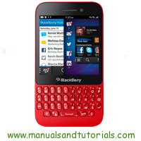 Blackberry Q5 Manual And User Guide PDF