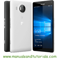 Microsoft Lumia 950 XL Manual And User Guide PDF