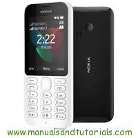 Nokia 222 Manual And User Guide PDF