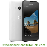 Microsoft Lumia 550 Manual And User Guide PDF
