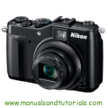 Nikon Coolpix P7000 Manual And User Guide PDF