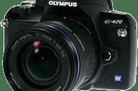 Olympus E-420 Manual And User Guide PDF